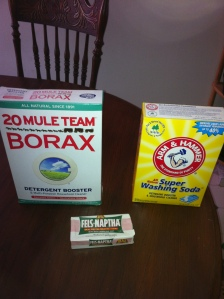 Borax Washing Soda Naphtha Soap